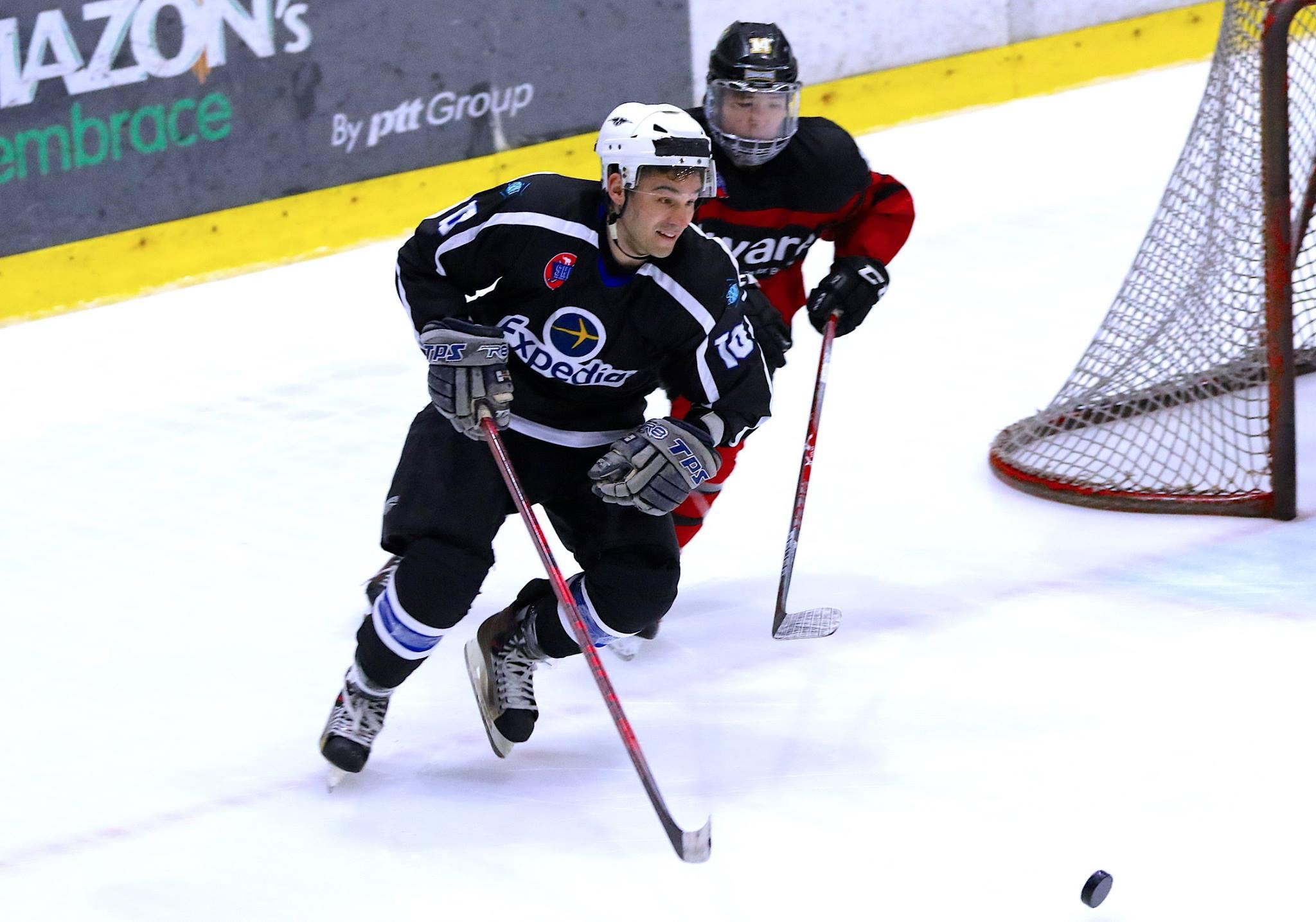 12-21-2017 SHL AWARE 4 vs EXPEDIA 3 - Siam Hockey League
